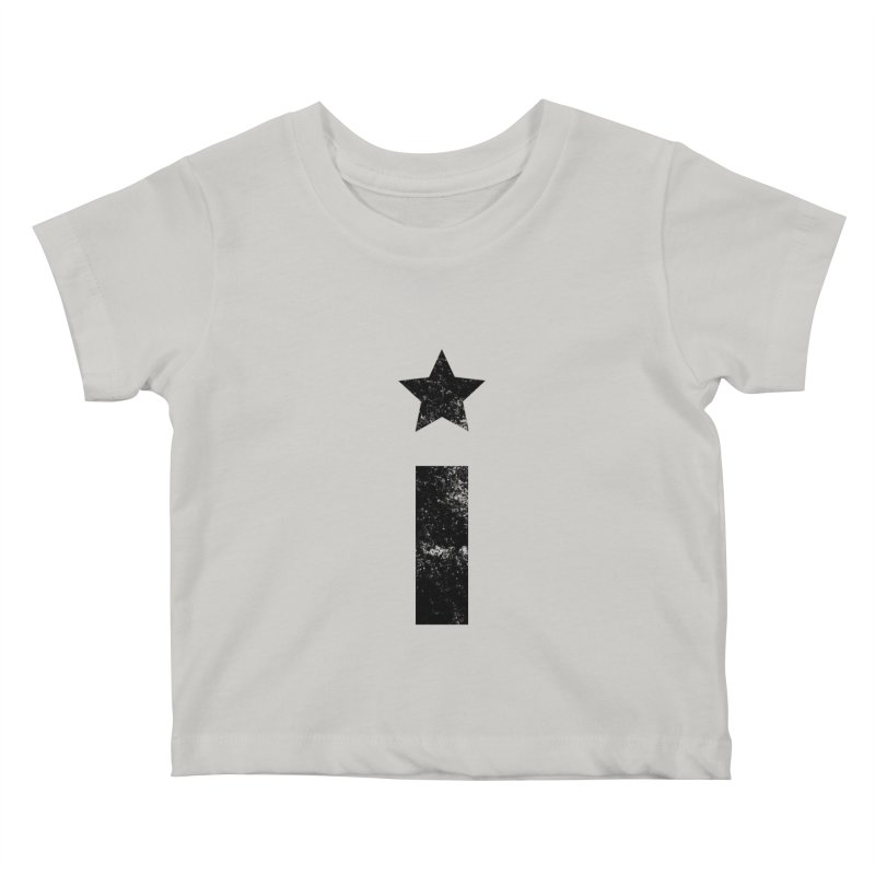 "Distressed ""I"" Indivisible Logo Kids Baby T-Shirt by Shop Indivisible"