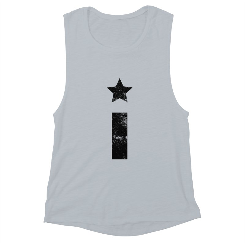 """Distressed """"I"""" Indivisible Logo Women's Tank by Shop Indivisible"""