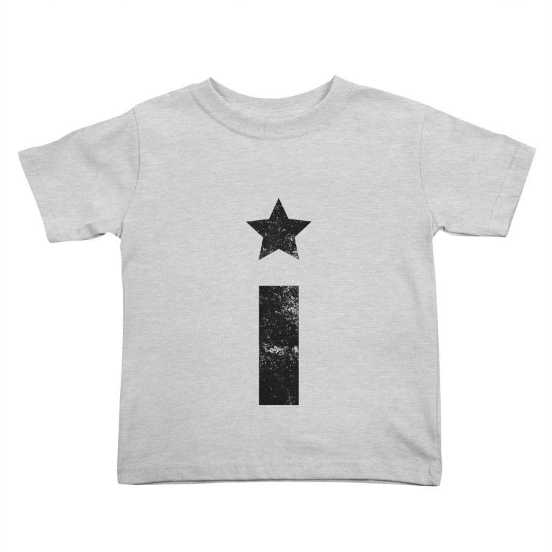 """Distressed """"I"""" Indivisible Logo Kids Toddler T-Shirt by Shop Indivisible"""
