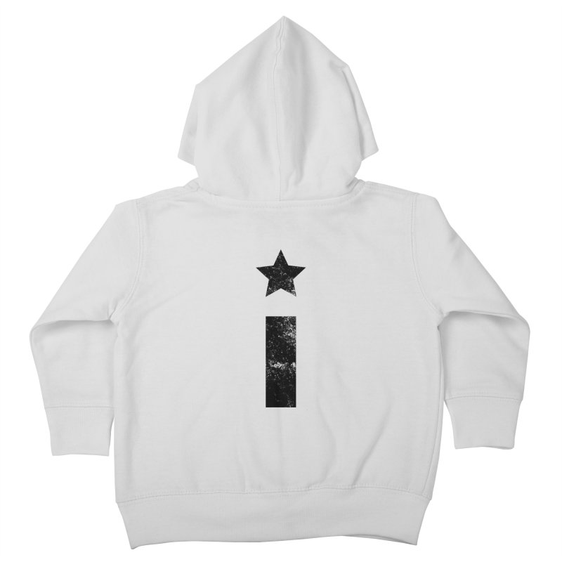 "Distressed ""I"" Indivisible Logo Kids Toddler Zip-Up Hoody by Shop Indivisible"