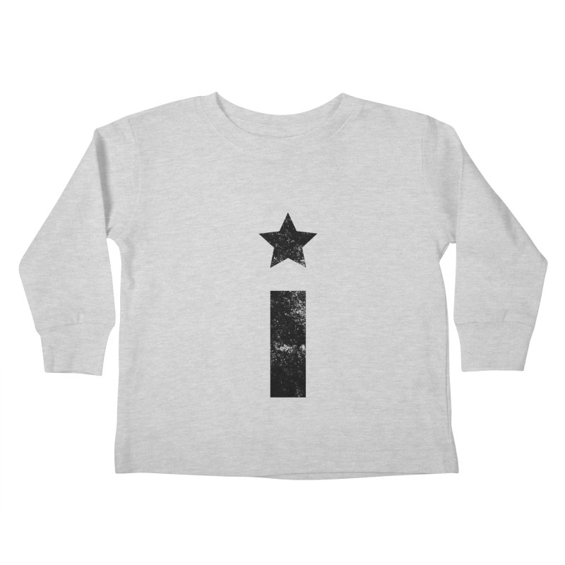 "Distressed ""I"" Indivisible Logo Kids Toddler Longsleeve T-Shirt by Shop Indivisible"