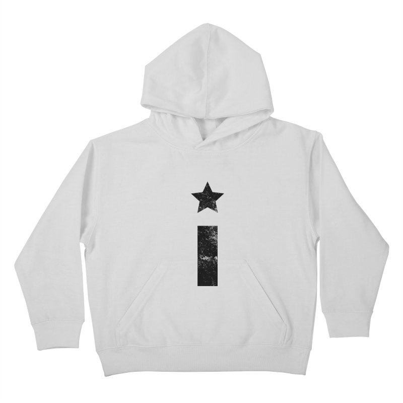 "Distressed ""I"" Indivisible Logo Kids Pullover Hoody by Shop Indivisible"