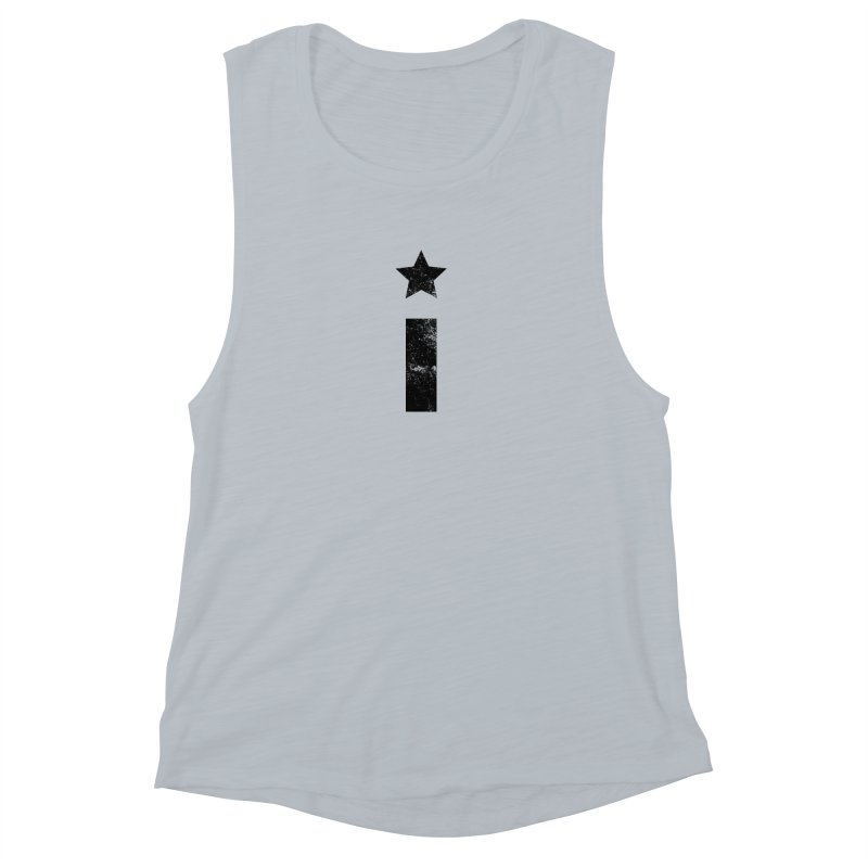 "Distressed ""I"" Indivisible Logo Women's Tank by Shop Indivisible"