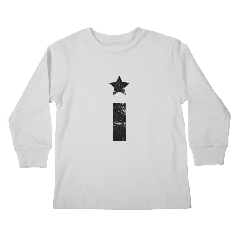 """Distressed """"I"""" Indivisible Logo Kids Longsleeve T-Shirt by Shop Indivisible"""