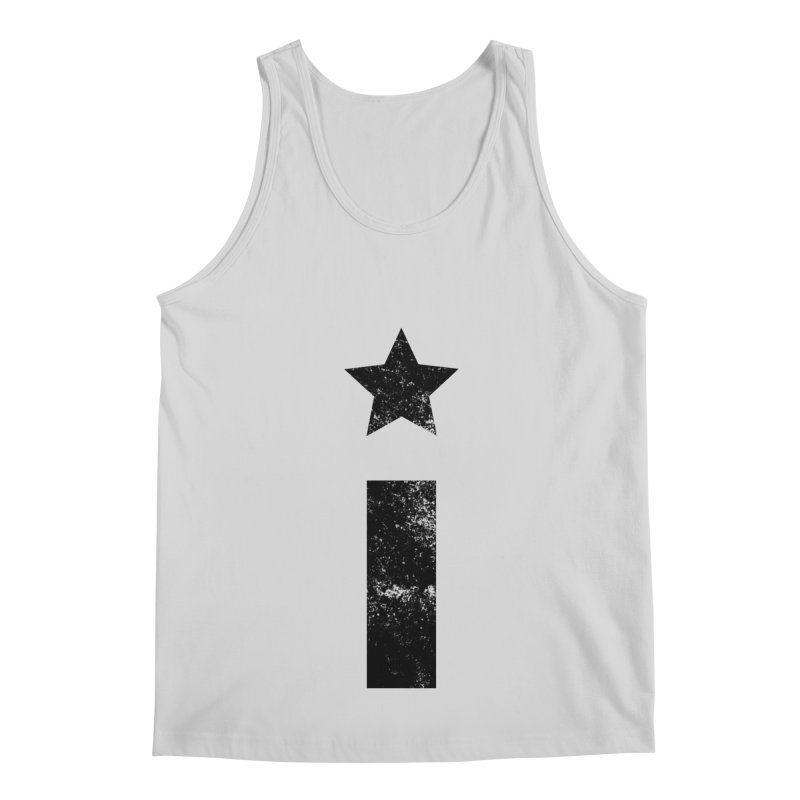 "Distressed ""I"" Indivisible Logo Men's Tank by Shop Indivisible"