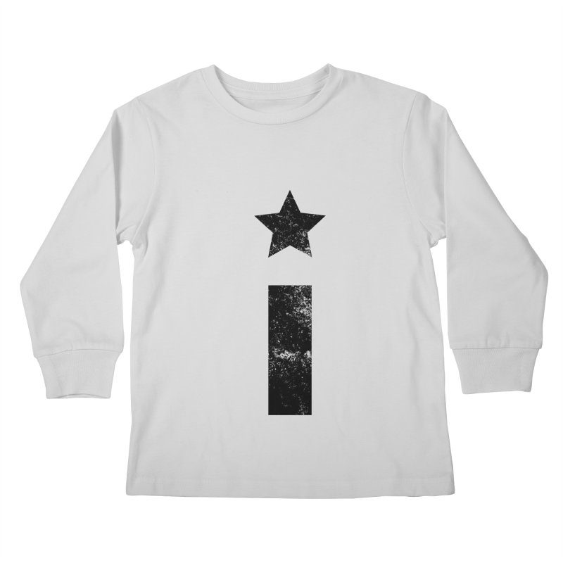 "Distressed ""I"" Indivisible Logo Kids Longsleeve T-Shirt by Shop Indivisible"