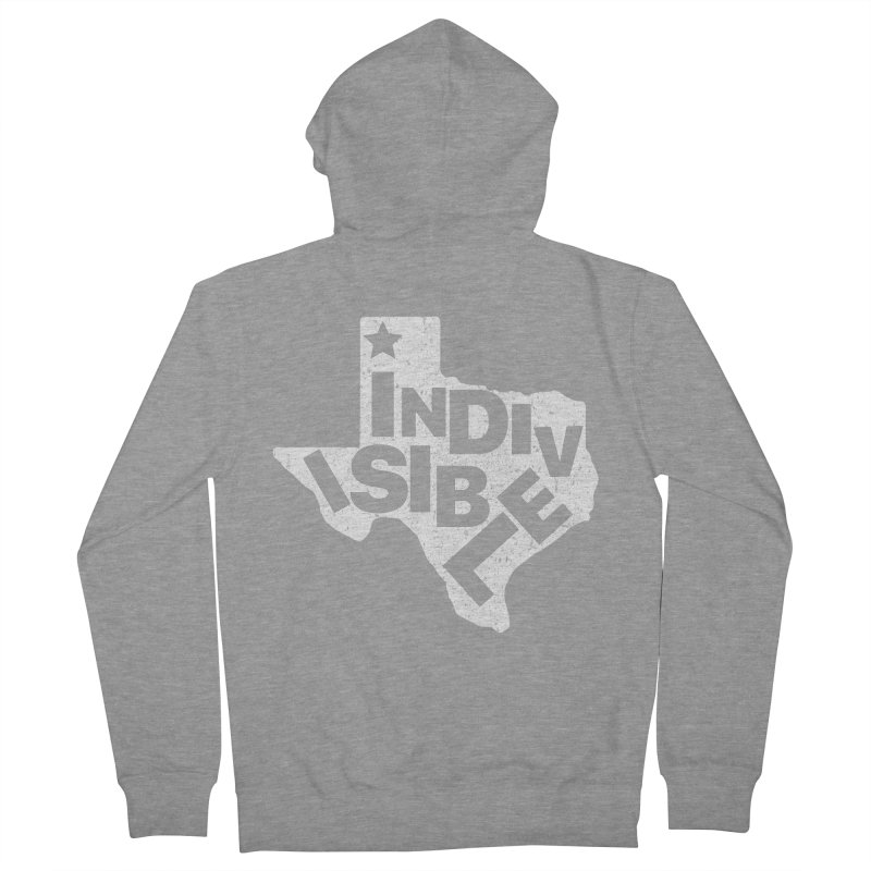 Indivisible - Texas Cutout, Distressed   by Shop Indivisible