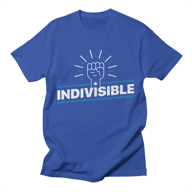 """Indivisible """"Take Action"""" Resistance T-Shirt Men's T-Shirt by Shop Indivisible"""