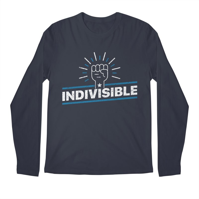 "Indivisible ""Take Action"" Resistance T-Shirt Men's Longsleeve T-Shirt by Shop Indivisible"