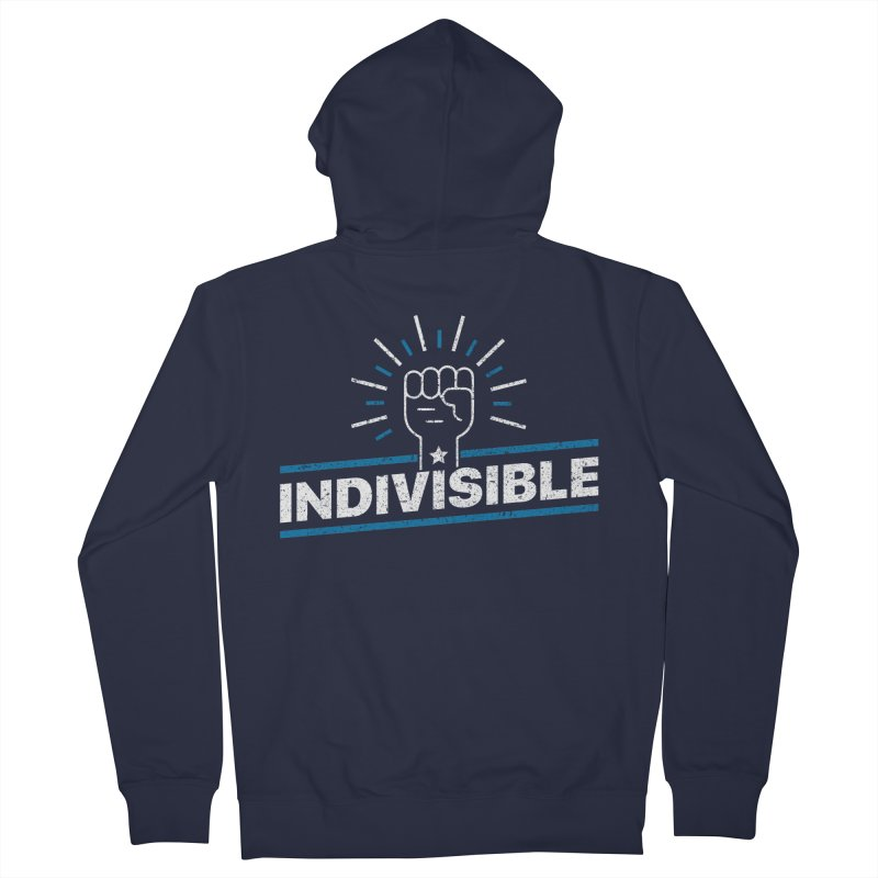 "Indivisible ""Take Action"" Resistance T-Shirt Women's Zip-Up Hoody by Shop Indivisible"