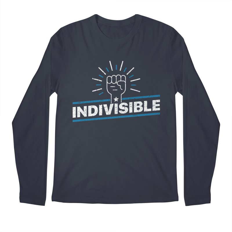 "Indivisible ""Take Action"" Resistance T-Shirt Men's Regular Longsleeve T-Shirt by Shop Indivisible"