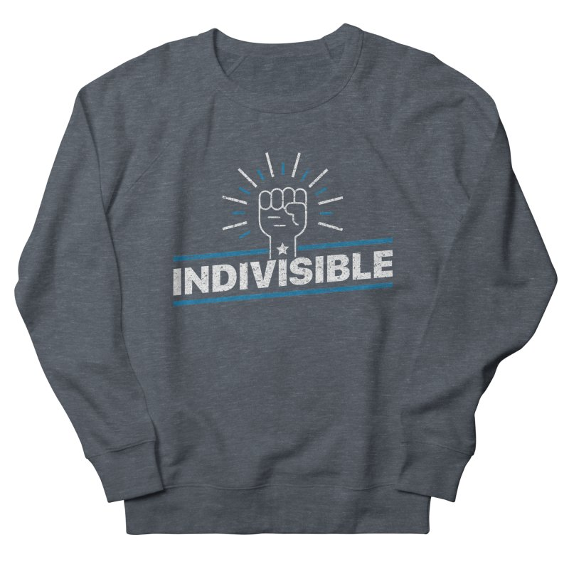 "Indivisible ""Take Action"" Resistance T-Shirt Men's French Terry Sweatshirt by Shop Indivisible"
