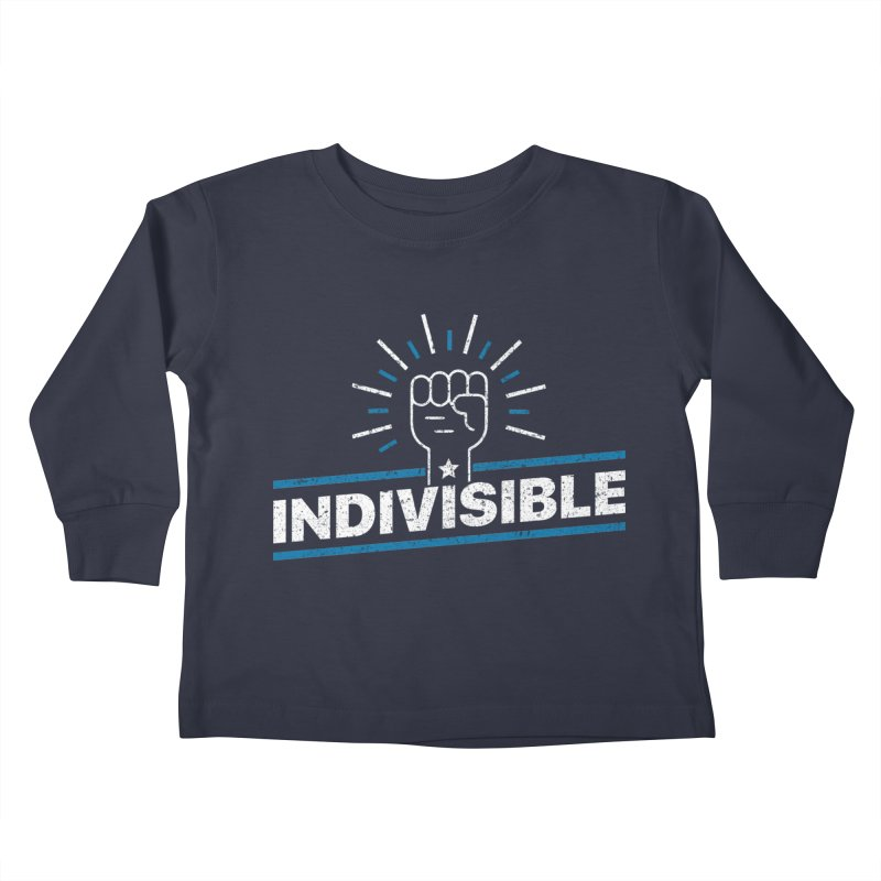 "Indivisible ""Take Action"" Resistance T-Shirt Kids Toddler Longsleeve T-Shirt by Shop Indivisible"