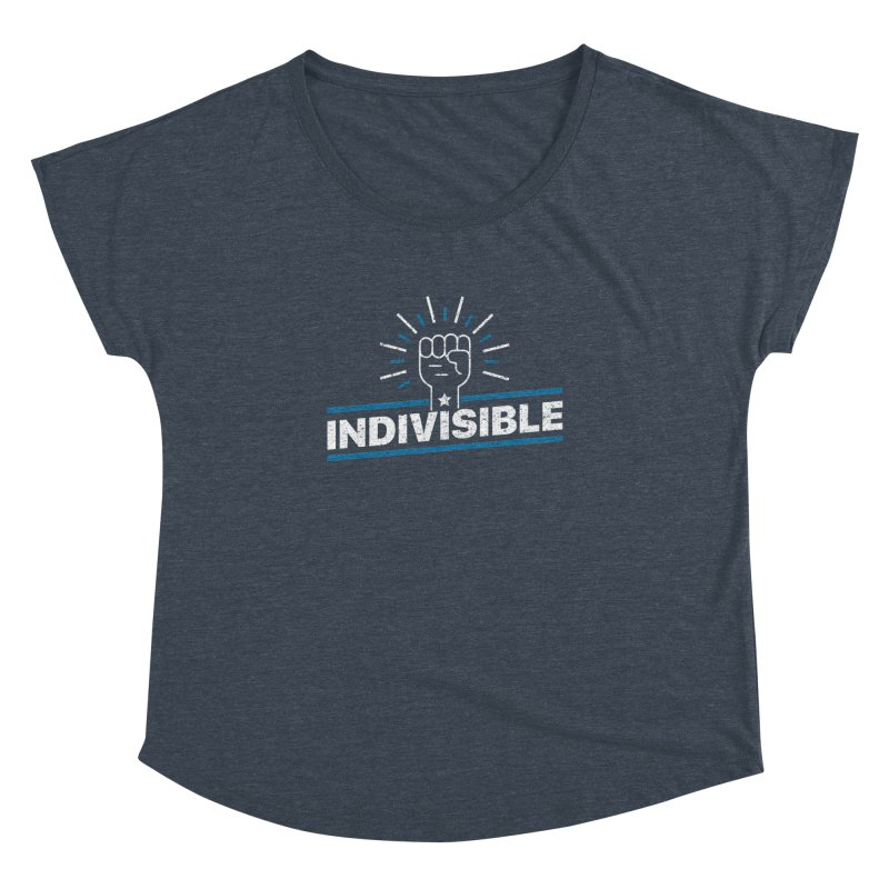 "Indivisible ""Take Action"" Resistance T-Shirt Women's Dolman by Shop Indivisible"