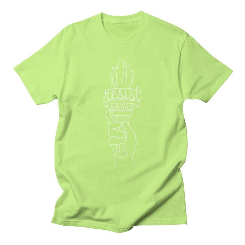 Resist - A Shirt Inspired by the Indivisible Guide Men's T-Shirt by Shop Indivisible