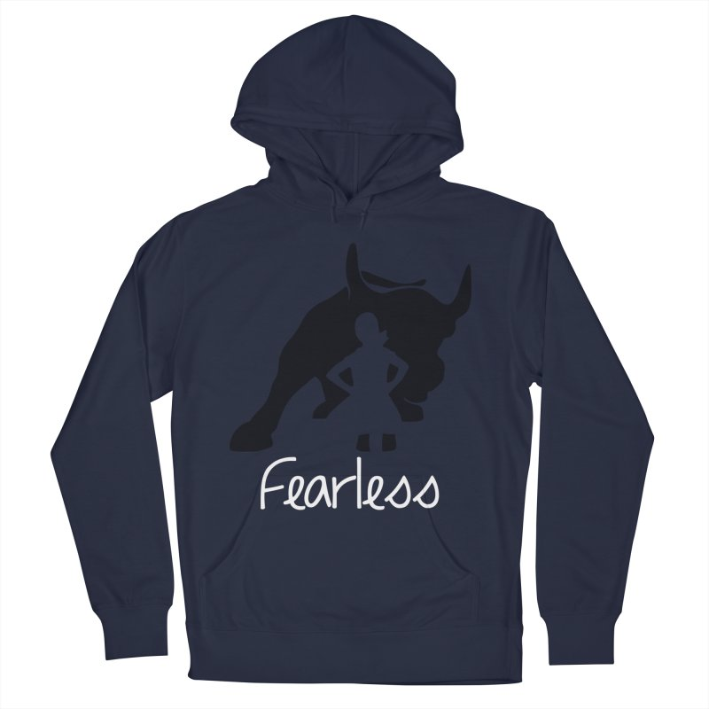 Fearless Girl Men's Pullover Hoody by Shop Indivisible