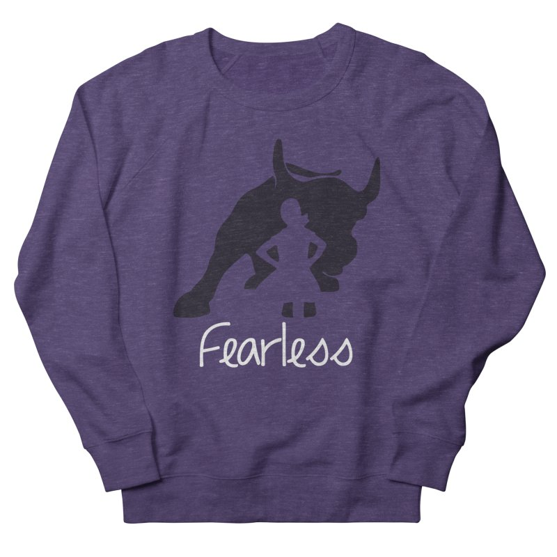 Fearless Girl Women's Sweatshirt by Shop Indivisible