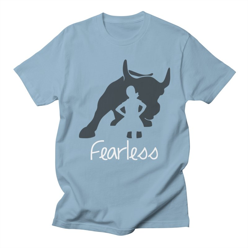 Fearless Girl Men's T-Shirt by Shop Indivisible