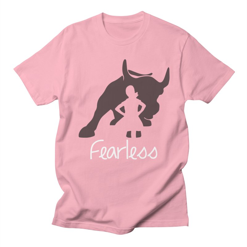 Fearless Girl Women's Unisex T-Shirt by Shop Indivisible