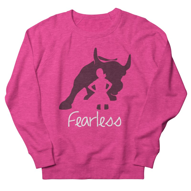 Fearless Girl Men's Sweatshirt by Shop Indivisible