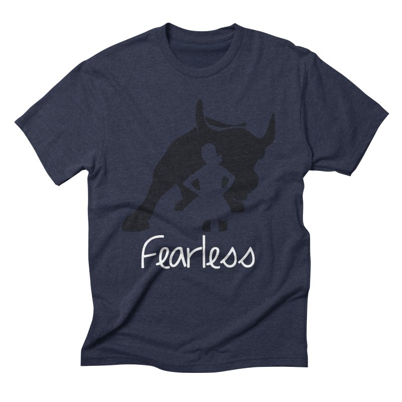 Fearless Girl Men's Triblend T-Shirt by Shop Indivisible