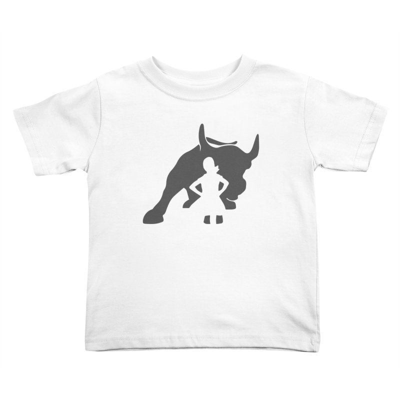 Fearless Girl Kids Toddler T-Shirt by Shop Indivisible