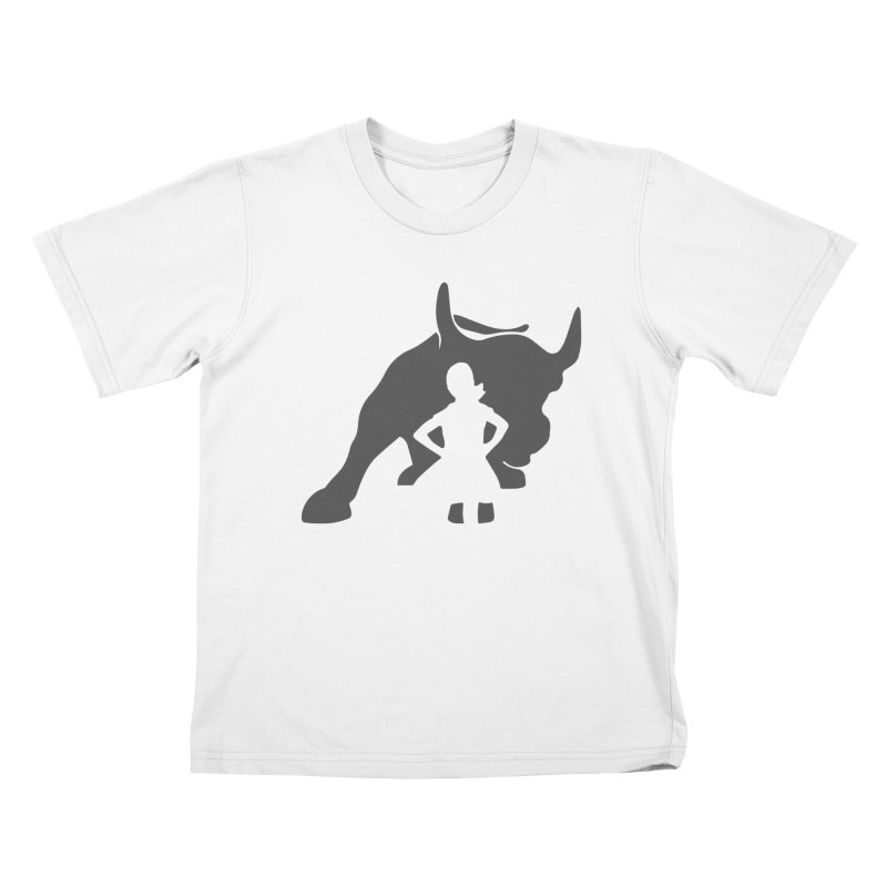 Fearless Girl Kids T-Shirt by Shop Indivisible