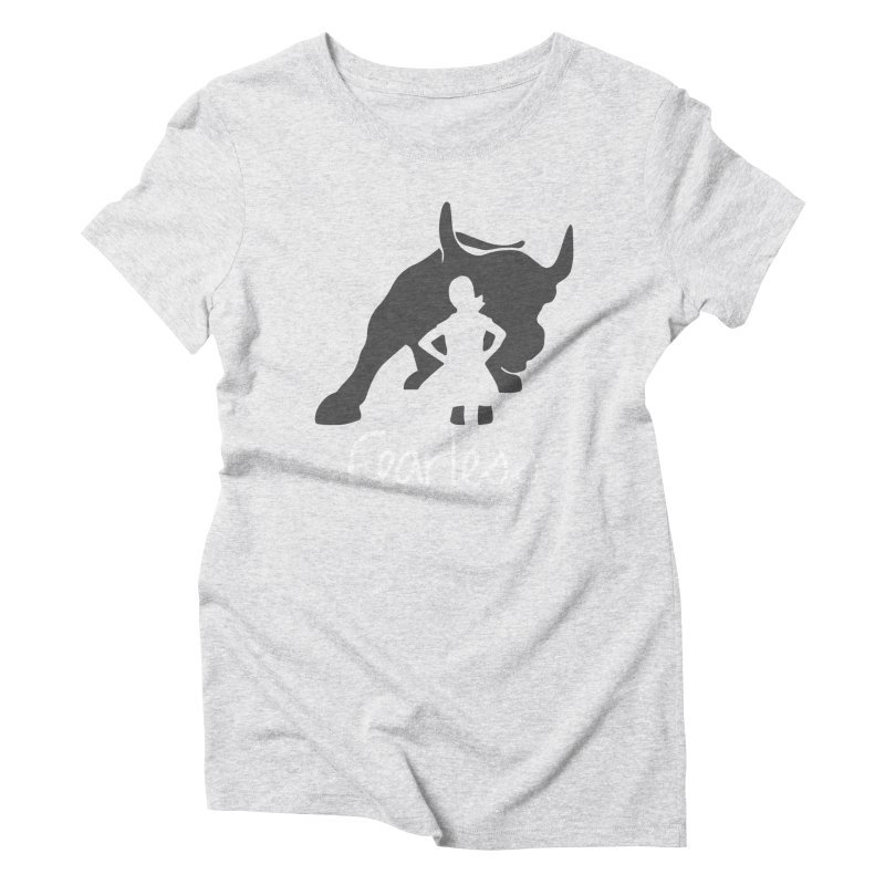 Fearless Girl Women's Triblend T-Shirt by Shop Indivisible