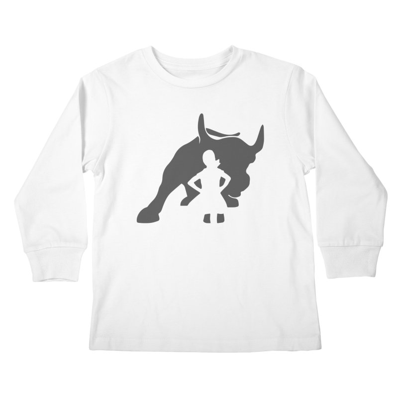 Fearless Girl Kids Longsleeve T-Shirt by Shop Indivisible