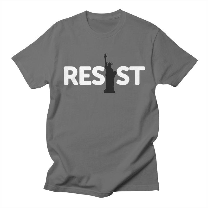 Resist - Liberty Men's T-Shirt by Shop Indivisible