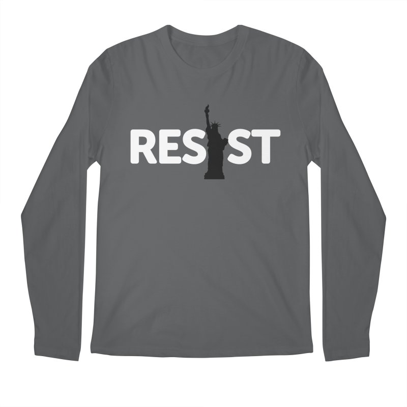 Resist - Liberty Men's Longsleeve T-Shirt by Shop Indivisible