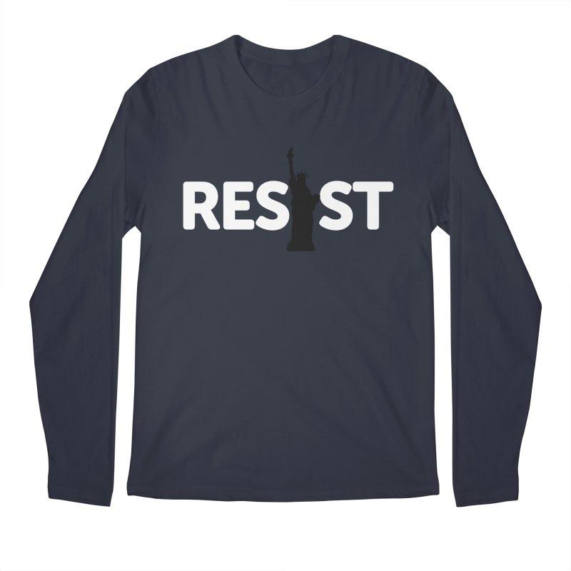 Resist - Liberty Men's Longsleeve T-Shirt by Shop Indivisible