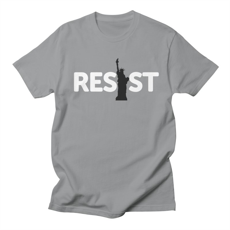Resist - Liberty Men's T-Shirt by Shop Indivisible