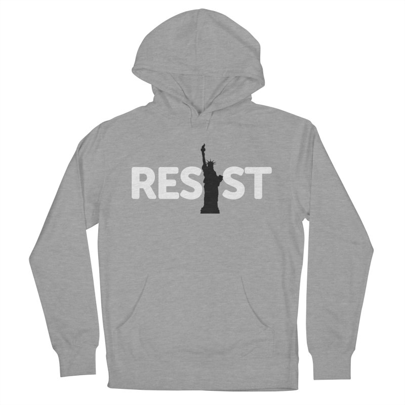 Resist - Liberty Women's French Terry Pullover Hoody by Shop Indivisible