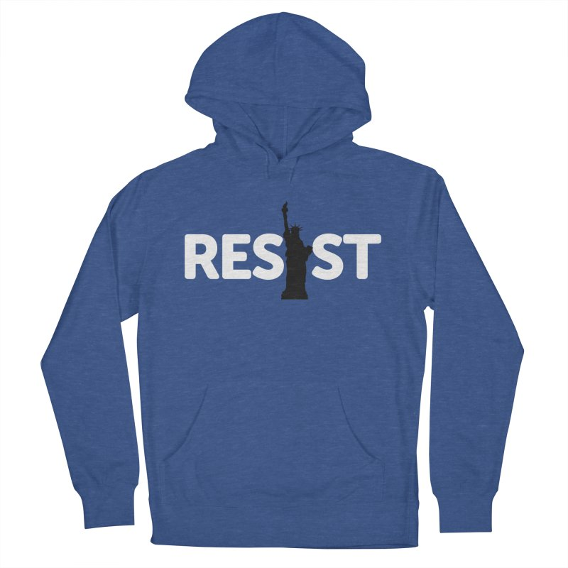 Resist - Liberty Men's French Terry Pullover Hoody by Shop Indivisible
