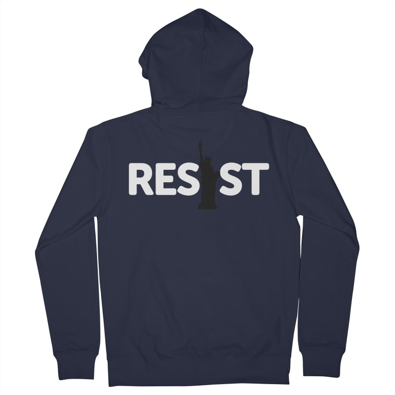 Resist - Liberty Women's French Terry Zip-Up Hoody by Shop Indivisible