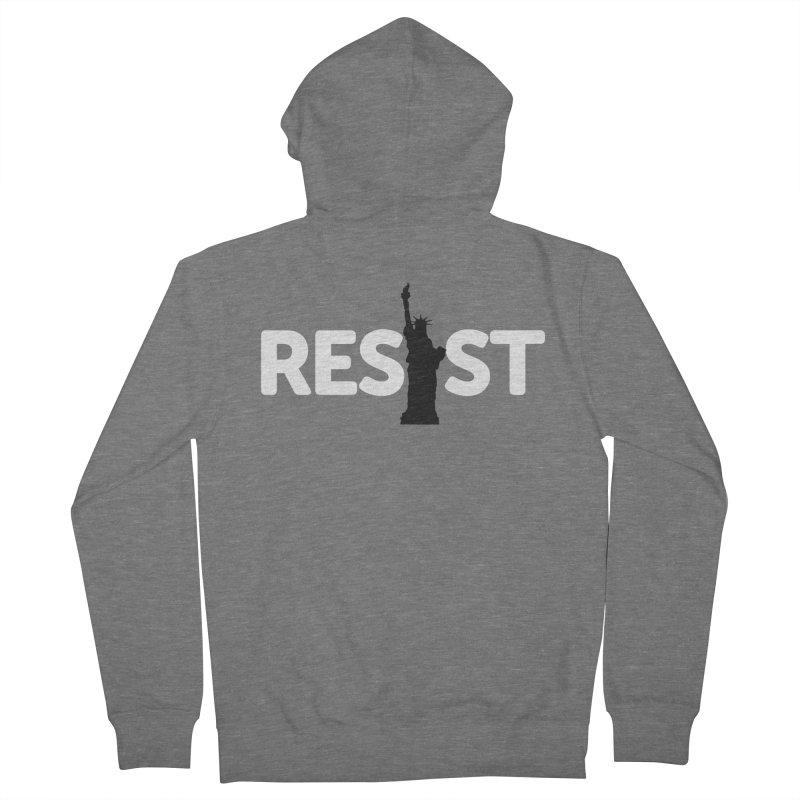 Resist - Liberty Men's Zip-Up Hoody by Shop Indivisible