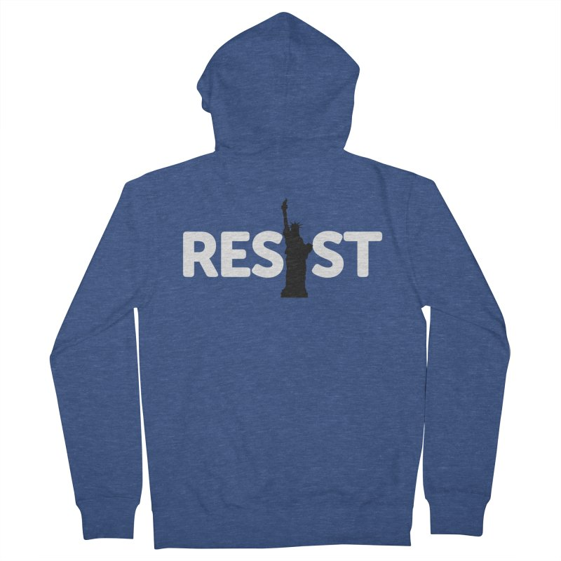 Resist - Liberty Men's Zip-Up Hoody by Shop Indivisible