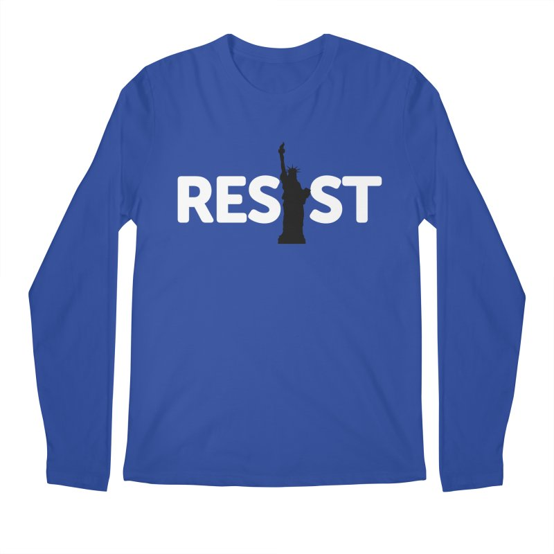 Resist - Liberty Men's Regular Longsleeve T-Shirt by Shop Indivisible