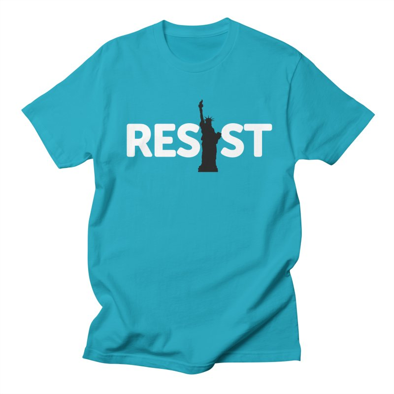 Resist - Liberty Women's Regular Unisex T-Shirt by Shop Indivisible