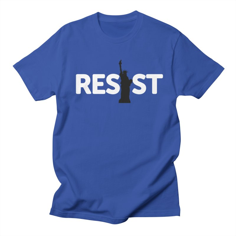 Resist - Liberty Men's Regular T-Shirt by Shop Indivisible