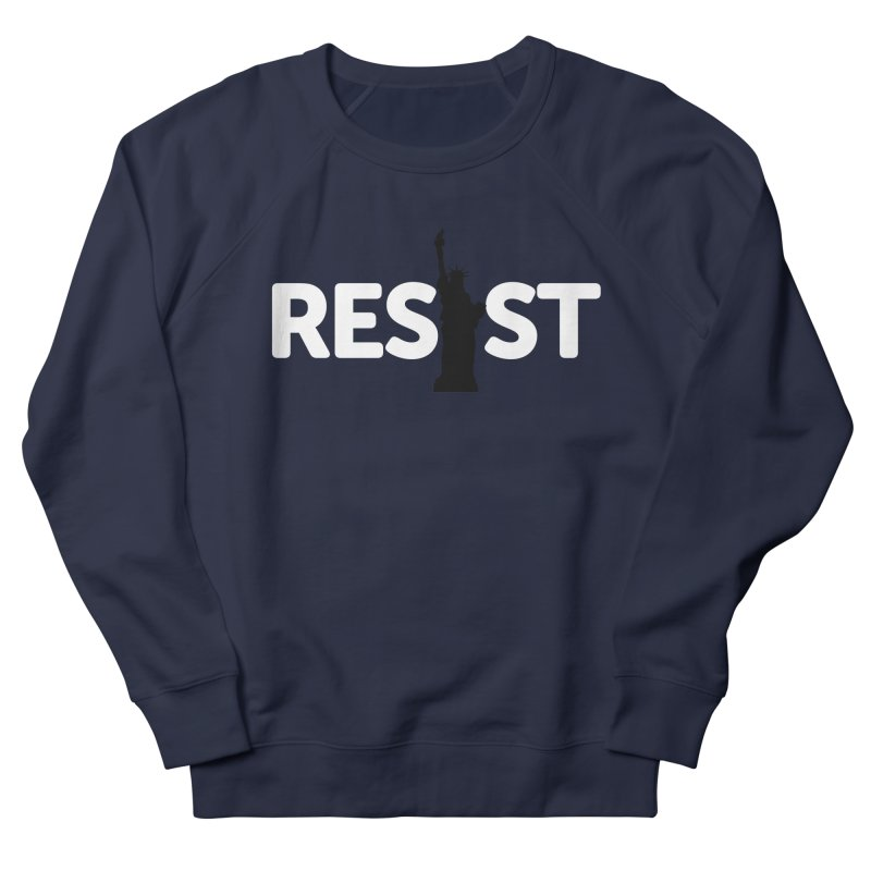 Resist - Liberty Men's French Terry Sweatshirt by Shop Indivisible