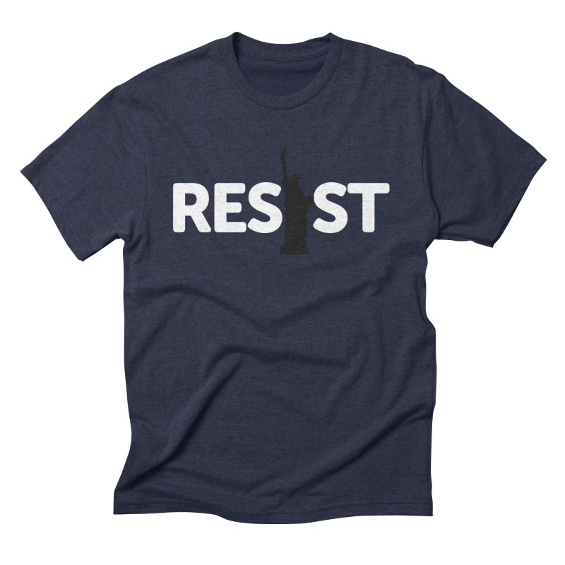 Resist - Liberty Men's Triblend T-Shirt by Shop Indivisible