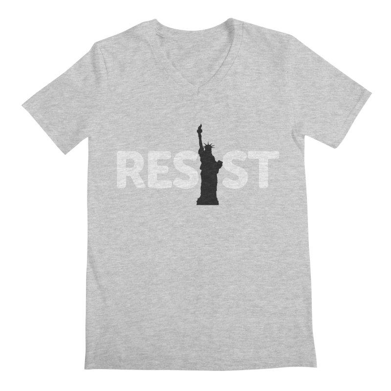 Resist - Liberty Men's V-Neck by Shop Indivisible