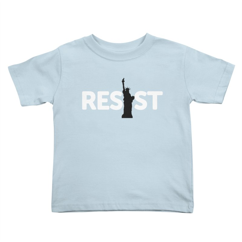 Resist - Liberty Kids Toddler T-Shirt by Shop Indivisible