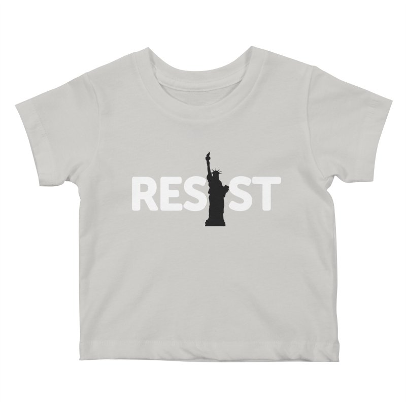 Resist - Liberty Kids Baby T-Shirt by Shop Indivisible