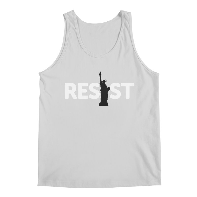Resist - Liberty Men's Regular Tank by Shop Indivisible