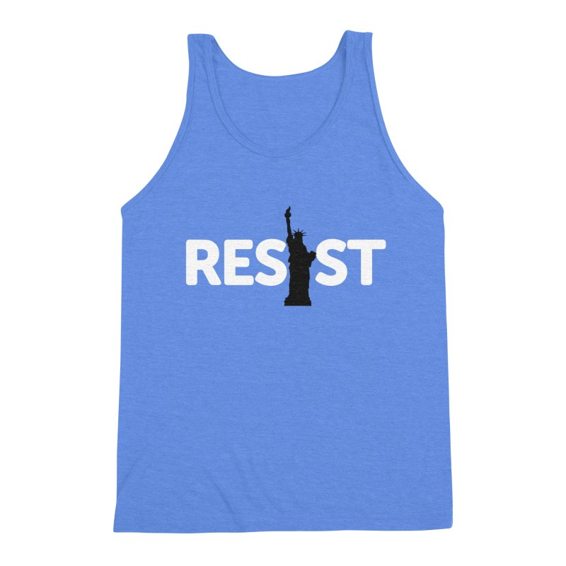 Resist - Liberty Men's Tank by Shop Indivisible