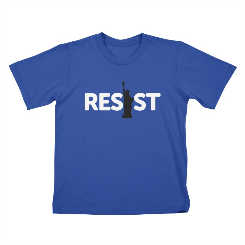 Resist - Liberty Kids T-Shirt by Shop Indivisible