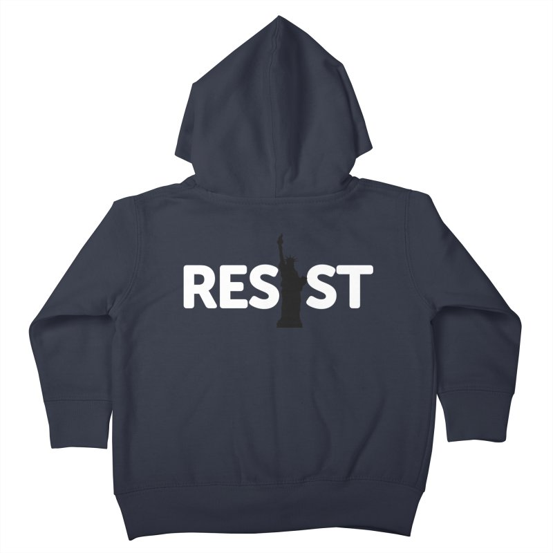 Resist - Liberty Kids Toddler Zip-Up Hoody by Shop Indivisible